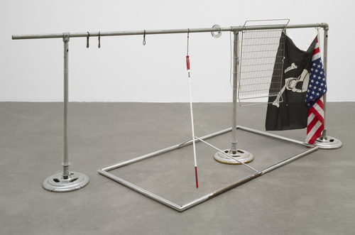 Kenneth was assigned Cady Noland's The American Trip (1988) at MoMA.
