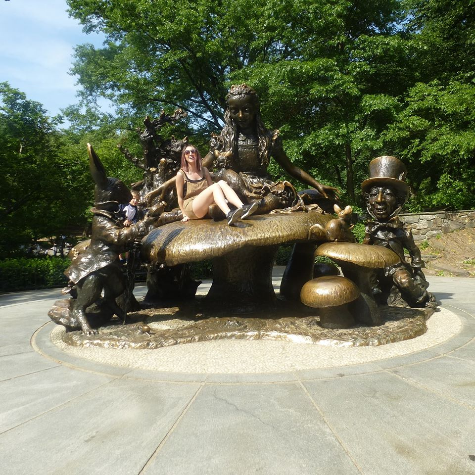 Michelle enjoying herself in Central Park!