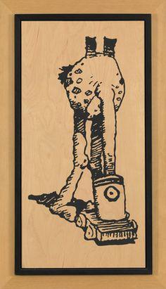 James was assigned Sherrie Levine's Untitled (Mr Austridge: 2) (1989)