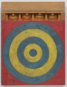 Jess was assigned Jasper Johns' Target With Four Faces (1954)he 9T