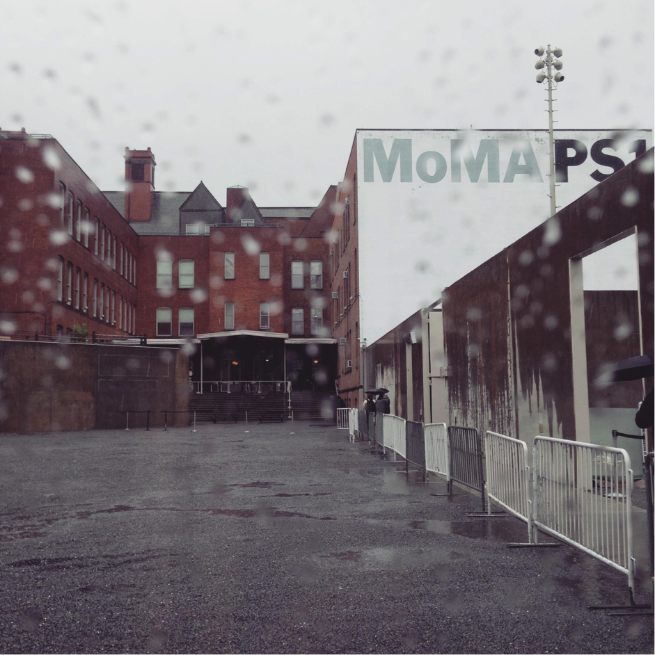 Cathrina braved a very rainy day and visited MoMA PS1 in Queens.