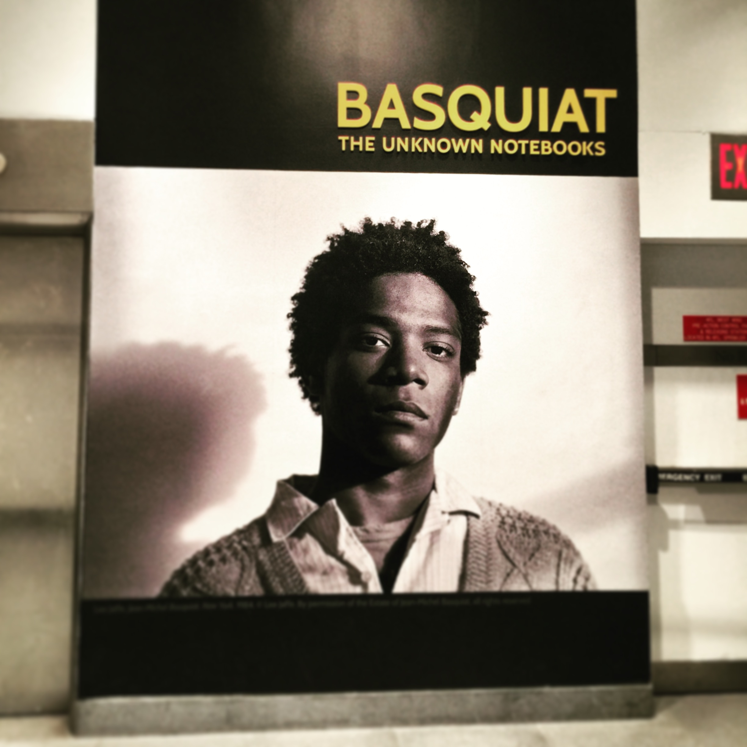 The Basquiat show was an important retrospective of the artist's notebooks and thought processes around his art practice.