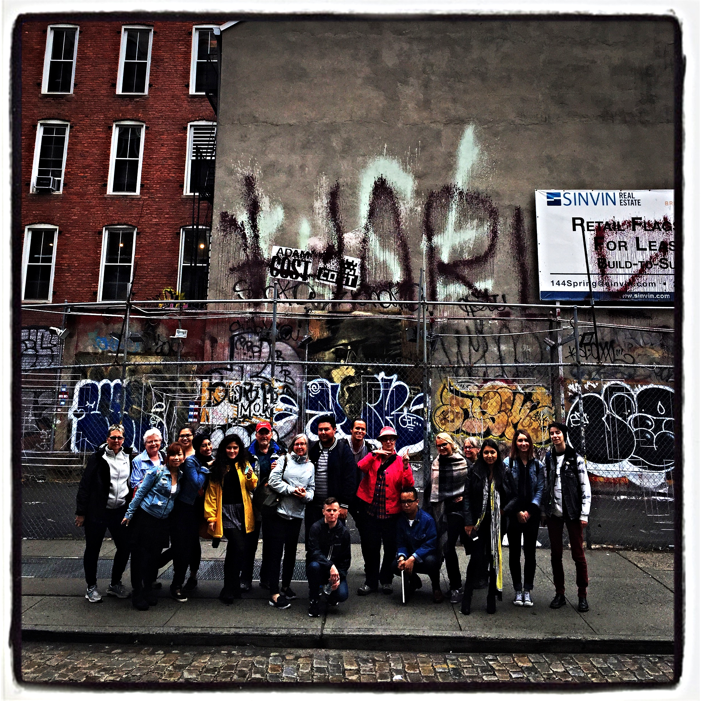 The recent NYC/Venice Field school had many opportunities to see graffiti and street art around New York-- a city that will play a big role in this course.