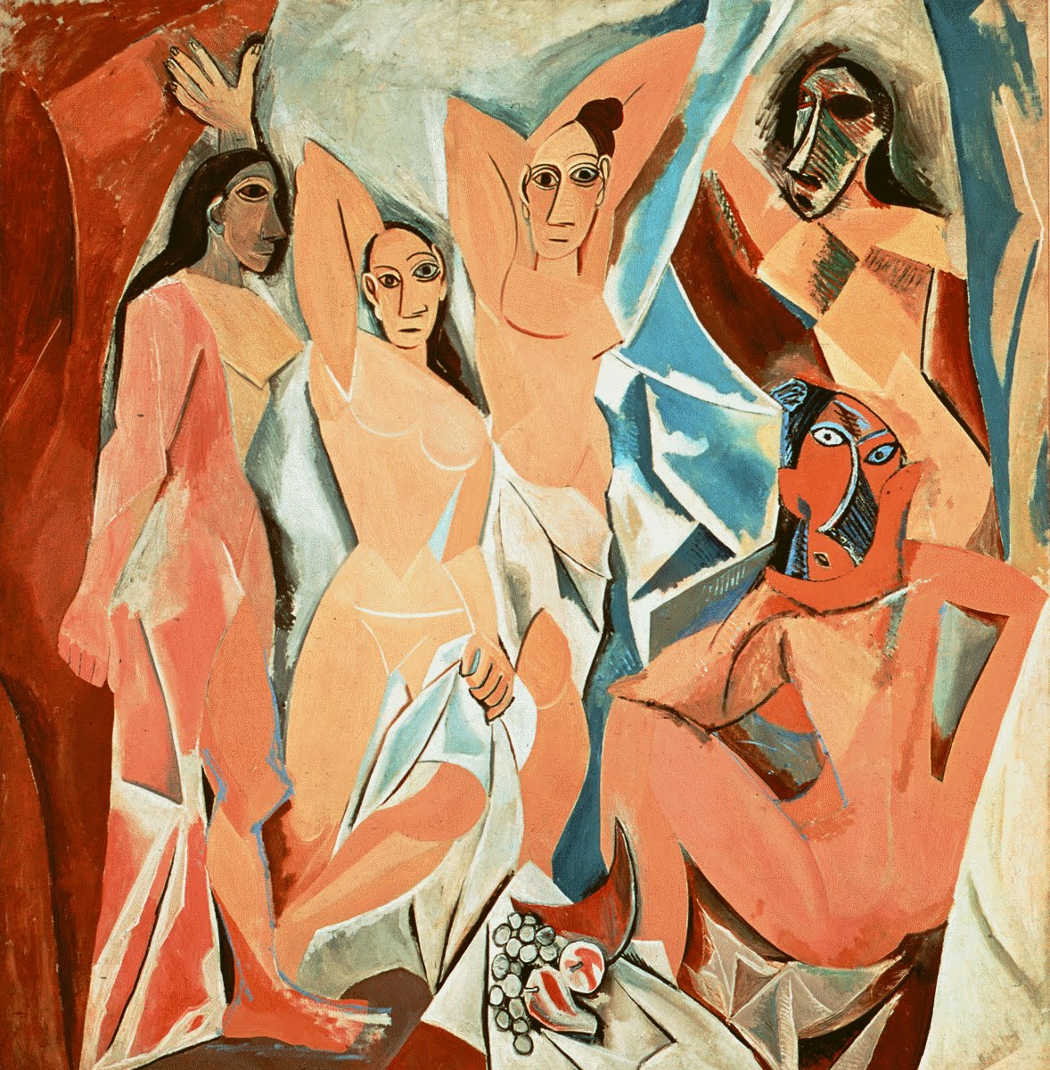 Pablo Picasso's iconic  Les Demoiselles D'avignon  (1907) signalled a radical shift in modern art-- come learn in ARTH 2122 about how and why paintings like this matter to the way we think about art today, and how this work came to be considered one of the most important art works ever made in the twentieth century.