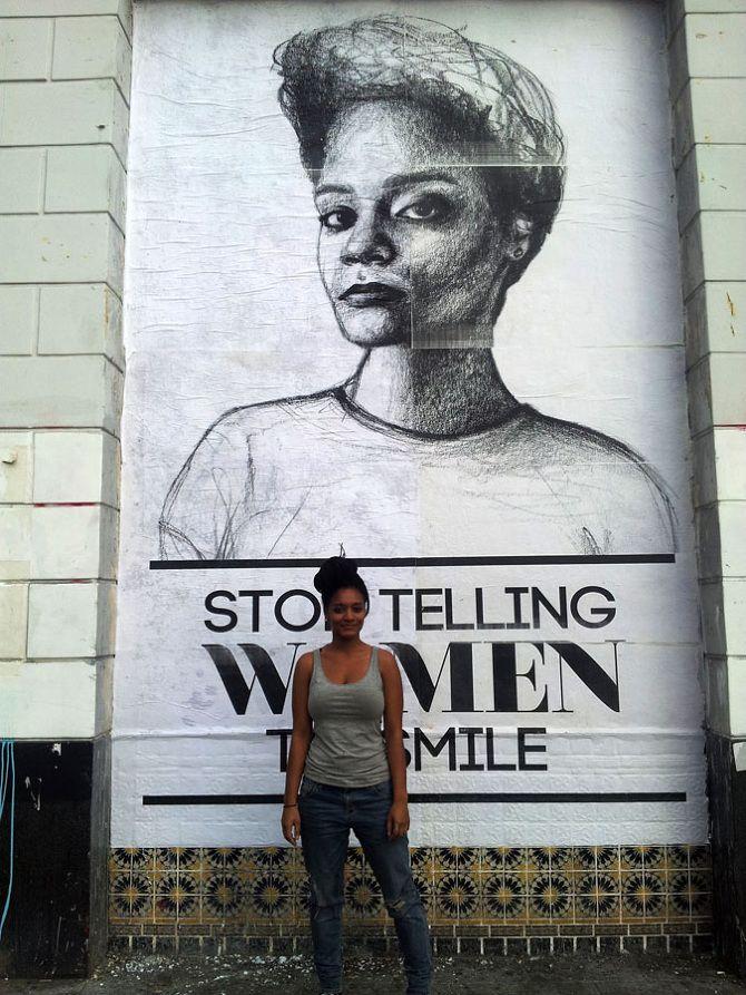 Tatyana Fazlalizadeh (Brooklyn, USA)