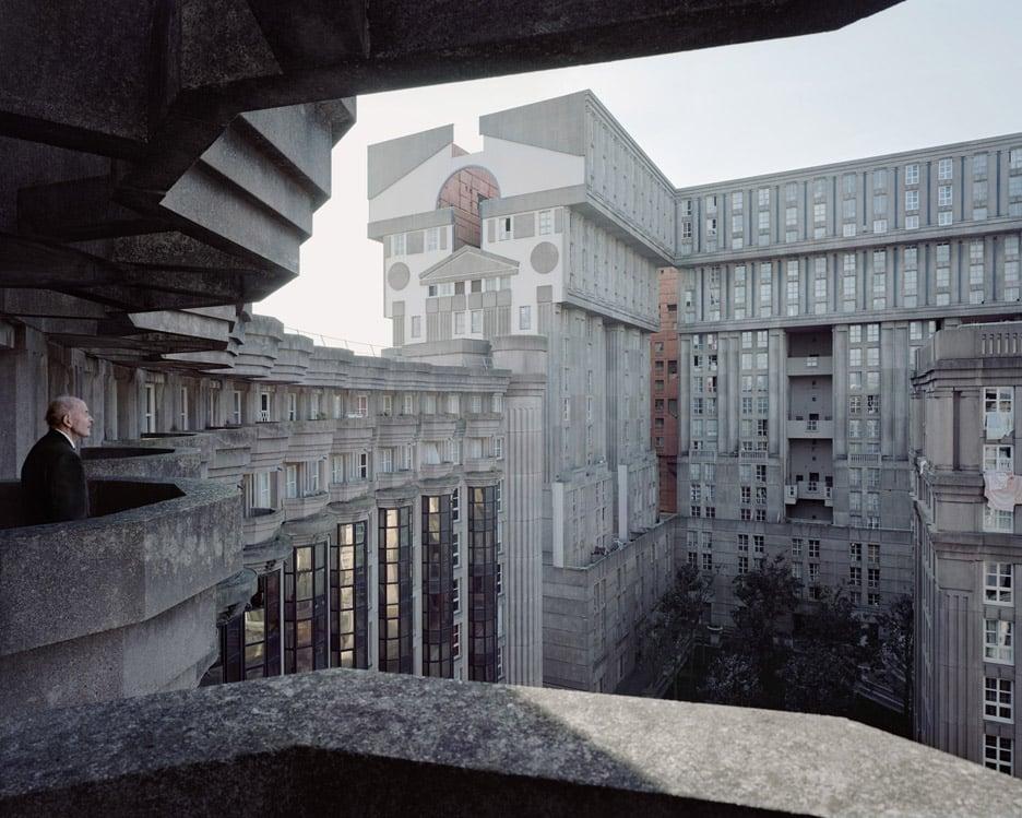 """""""Laurent Kronental's Souvenir d'un Futur photos show Paris' monumental housing estates"""""""