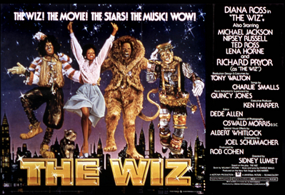 The adaptation of the original film seen in  The Wiz  (1978) featured an all African American cast. As such, new meanings and interpretations have emerged for both the way audiences engage and create memories about the story of Oz.