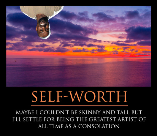 """Celebrate Yourself and Your Cool Pants With Our Kanye Motivational Posters"""