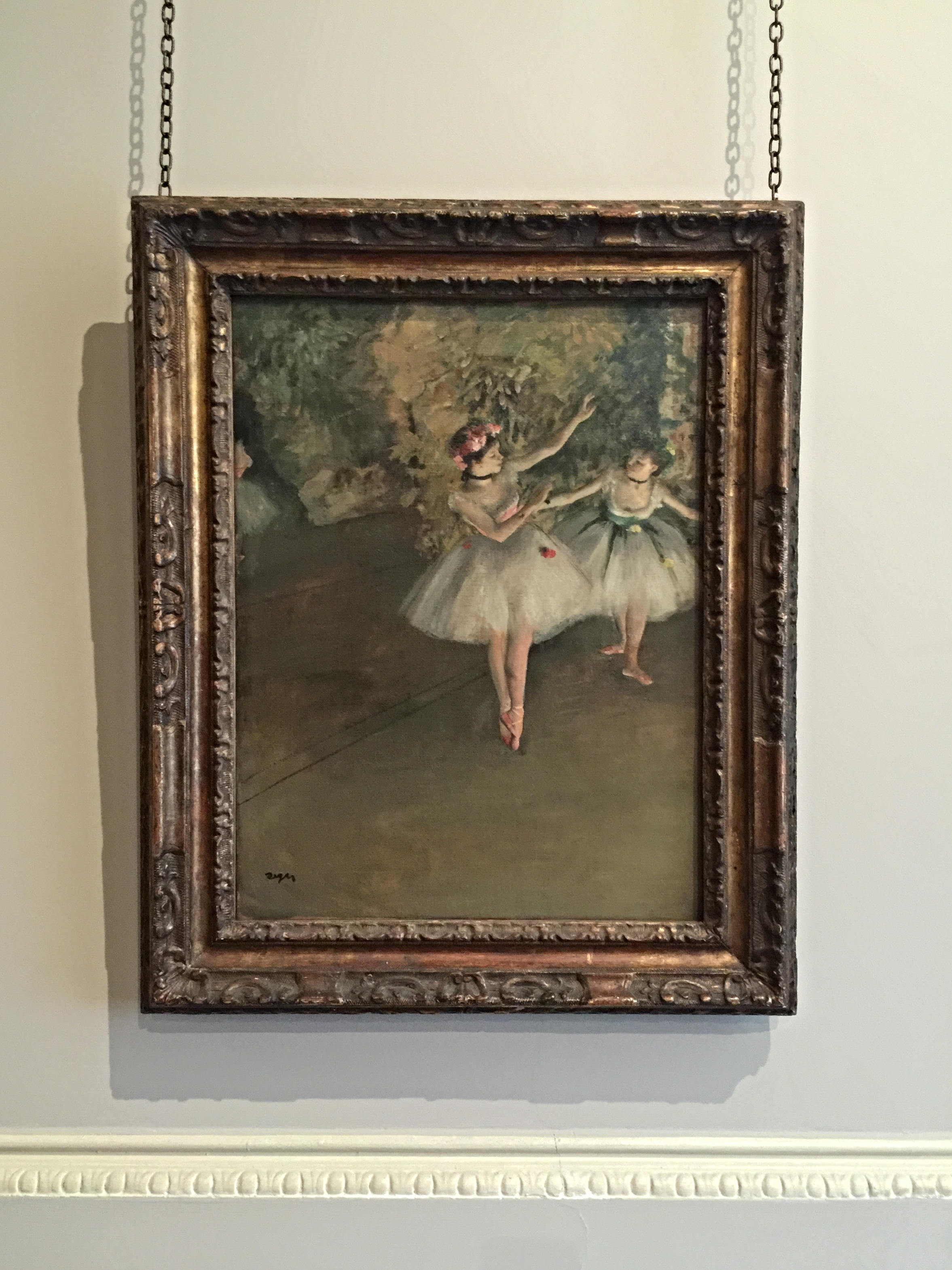 Edgar Degas, Two Dancers on a stage  (1874)
