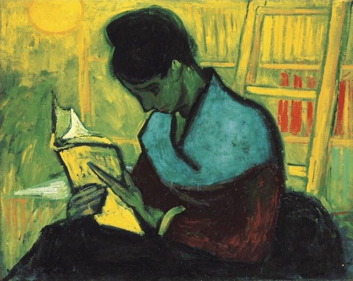 Vincent Van Gogh, The Novel Reader  (1888)