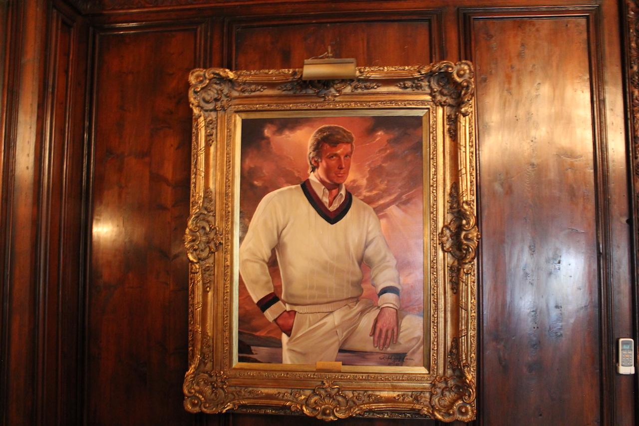"""""""Trump l'oeil: A Conversation with the Donald's Portrait Painter"""""""