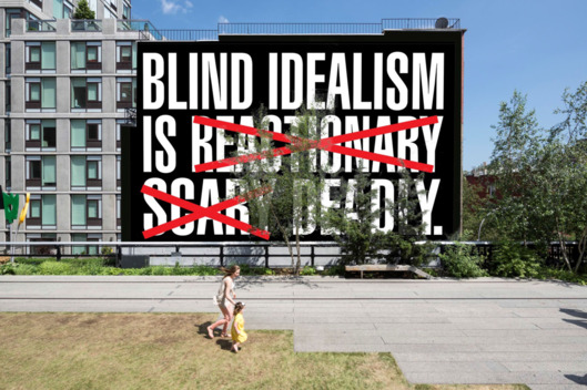 """""""Barbara Kruger on Blind Idealism, Trump, and the Brussels Terrorist Attacks"""""""