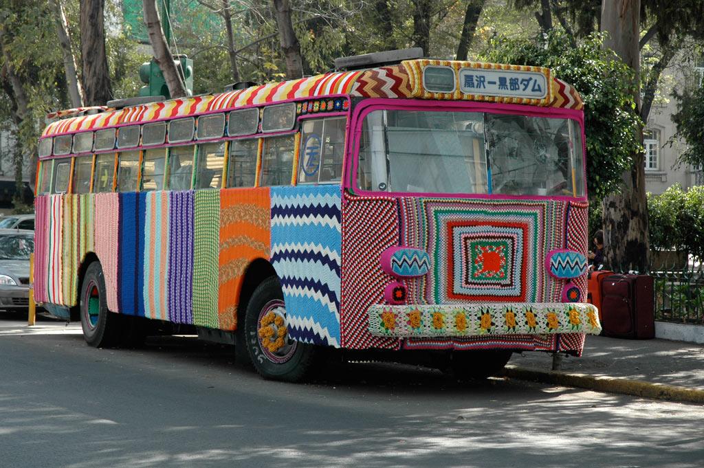 """How yarn bombing grew into a worldwide movement | Magda Sayeg (TED Talk)"""