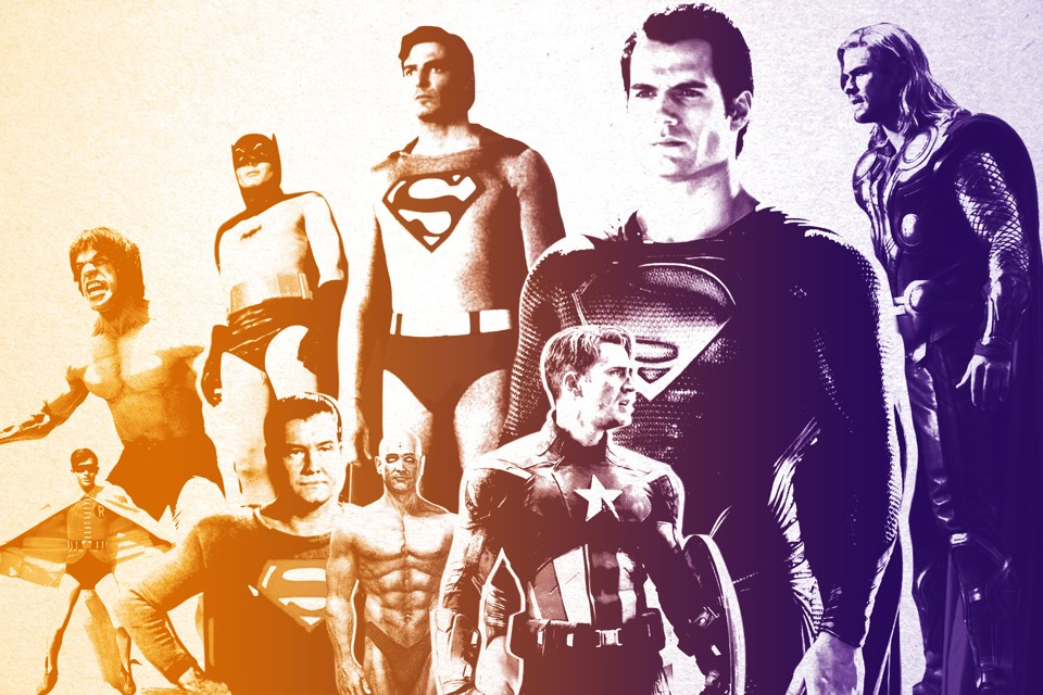 """Superman, Batman, and the Evolution of the 'Perfect' Hero Body"""