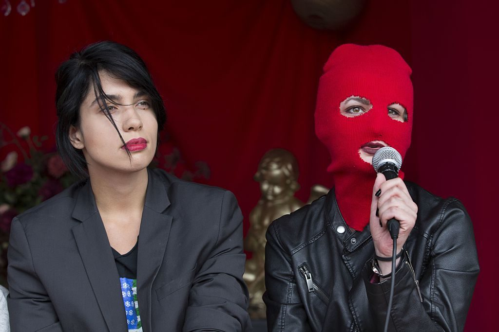 """""""Pussy Riot Offers Encouragement to Dissenters in Trump's America"""""""