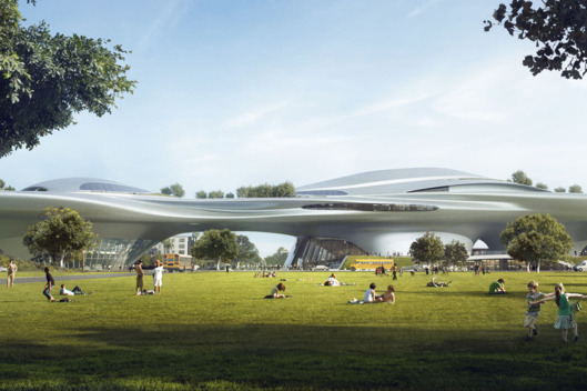 """""""In a Close, Close Future — in a City Not So Far Away — George Lucas Is Building His $1 Billion Museum in L.A."""""""