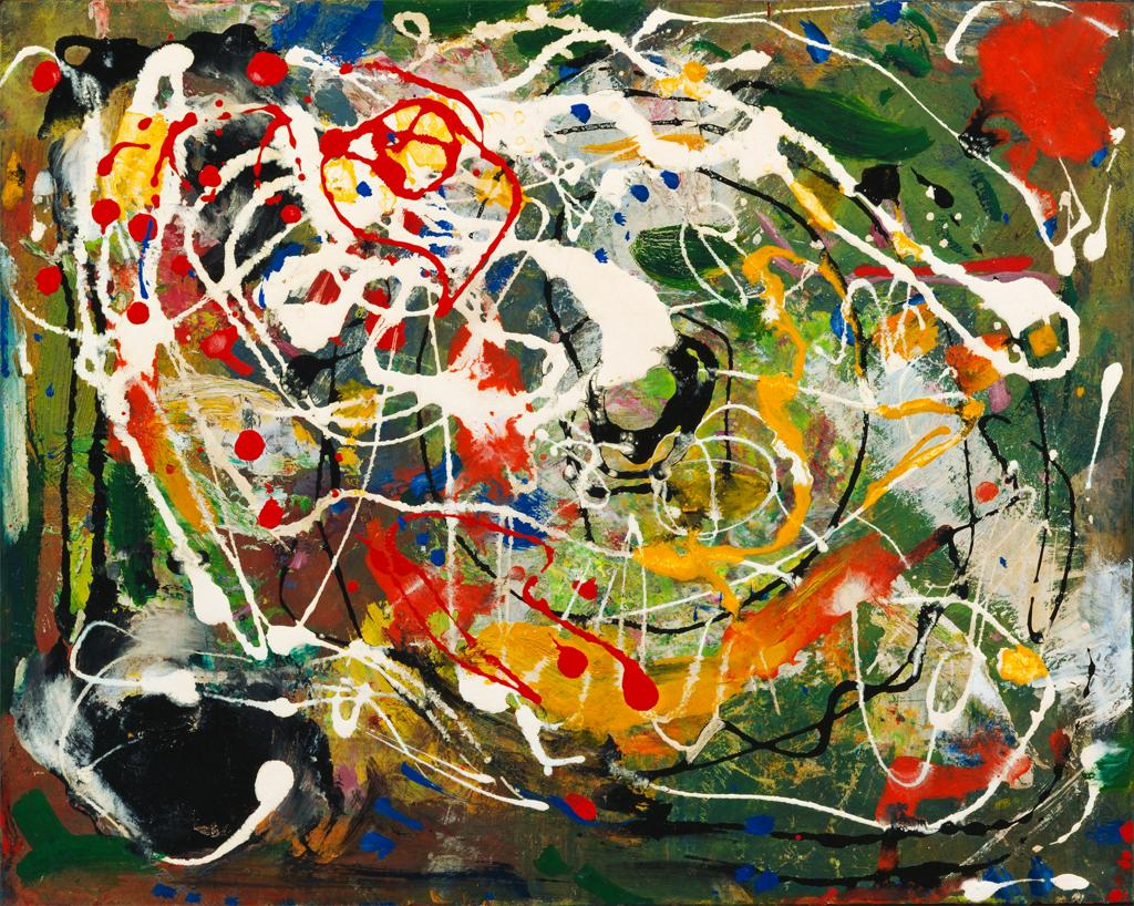 Hans Hofmann,  Spring  (1940) in celebration of the spring equinox this coming week.