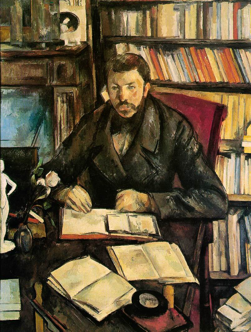 Alice worked with Paul Cezanne's  Gustave Geffroy  (1895-96) in both her art history and studio classes.