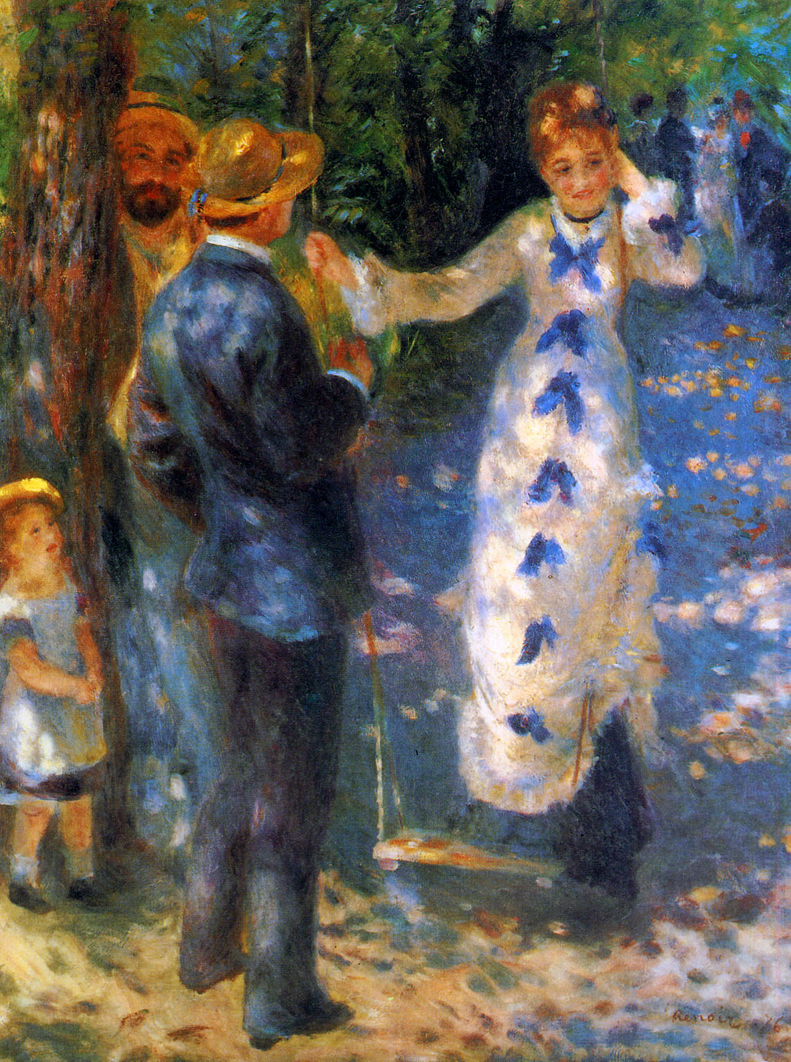 Pierre-Auguste Renoir, The Swing  (1876) was Jenny's assigned artwork from the Orsay Museum.