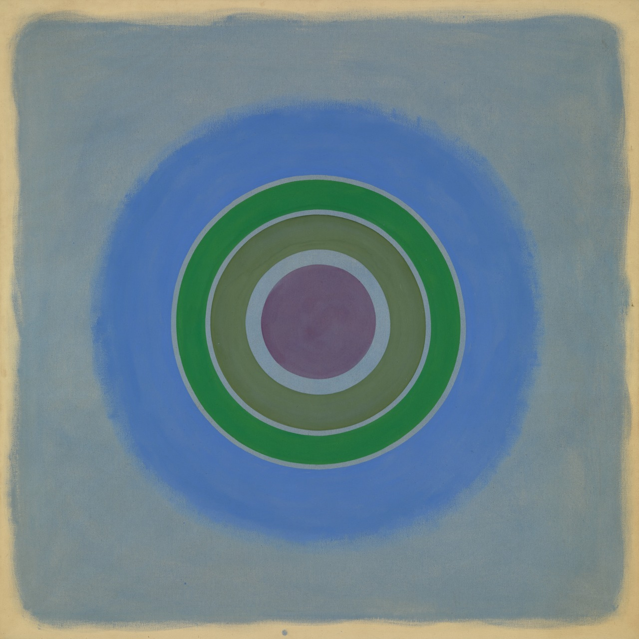 Kenneth Noland, Sounds in the Summer Night  (1962)