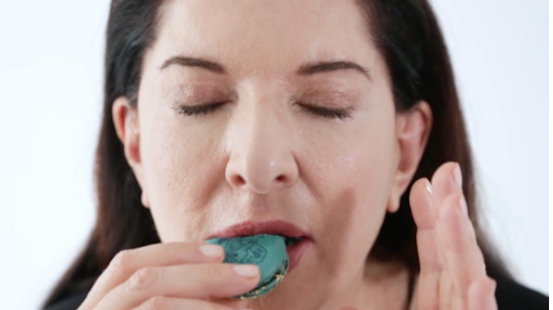 """Marina Abramović is Selling Macarons That Taste Like Her"""