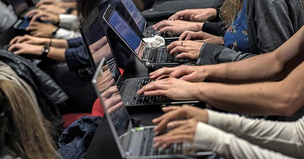 """""""Using laptops in class harms academic performance, study warns"""""""