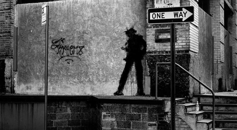 The  documentary  Shadowman  by director Oren Jacoby , an artist documentary on the life of Vancouver-born street artist Richard Hambleton, was one of the more memorable films I took in at the festival. Featured above is one of Hambleton's famous silhouettes that dotted the back streets of the Lower East Side of NYC in the 1980's.