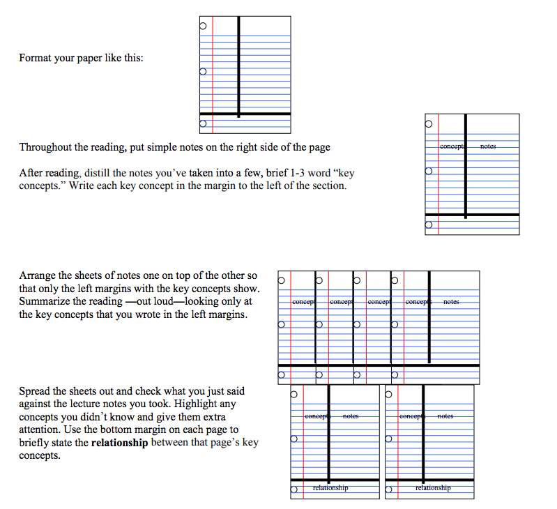 The Cornell Note-Taking Method is an oldie but a goodie.