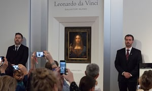 """""""Da Vinci painting sells for $450mn in NY: Christie's (VIDEO)"""""""