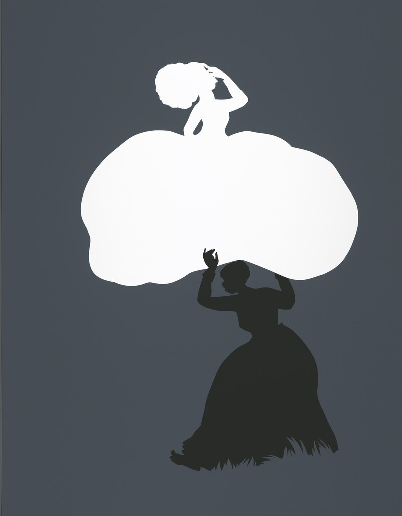 Contemporary painter, silhouettist, print-maker, installation artist, and film-maker Kara Walker was born on this day in 1969. Image: The Emancipation Approximation (Scene #18) ( 1999)