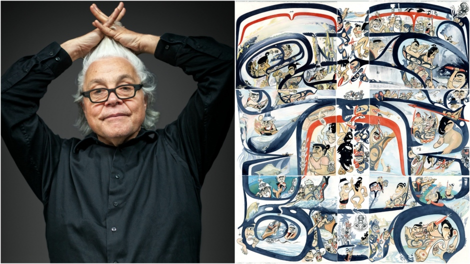 """""""Michael Yahgulanaas is telling Indigenous stories through the combined art form of Haida Manga (PODCAST)"""""""