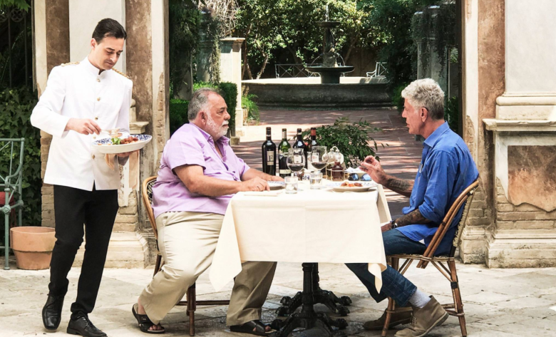 """A Conversation Between Bourdain and Francis Ford Coppola (VIDEO)"""