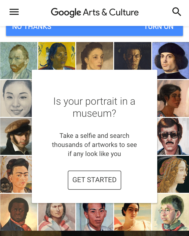 Google's new app has quickly topped the charts, and no one is surprised? Everybody would love to see if they have a painted doppelganger in the world's art museums.