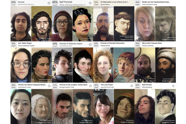 """Image grab from Slate's  """"Your A Work of Art: Not Necessarily a Beautiful One""""  making the point that """"This may be the app's secret: It charms because it simultaneously appeals to and deflates our narcissism."""""""