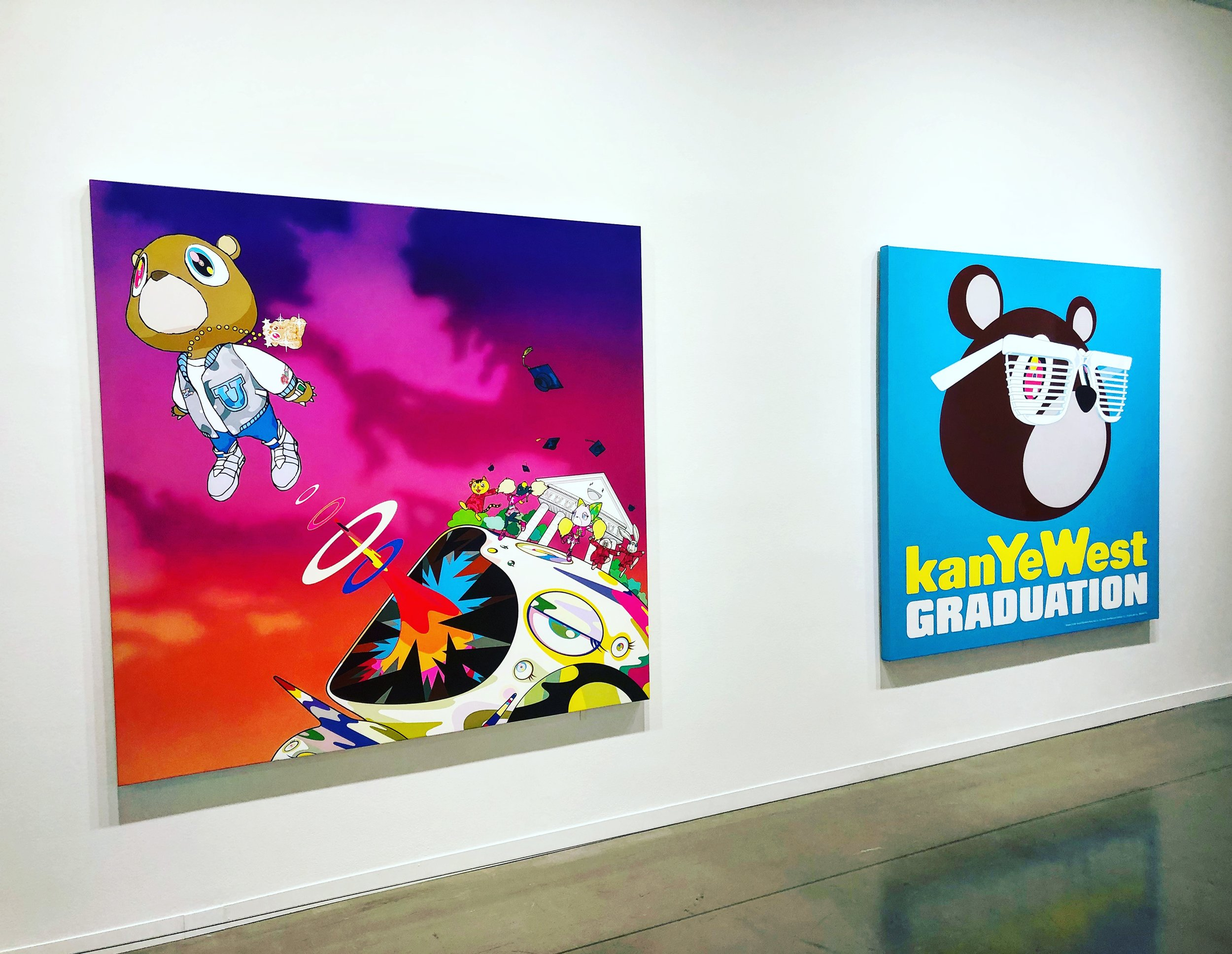 Not surprisingly, the interest and attention in Murakami intensified over a decade ago when he collaborated with Kanye West on his Graduation album cover, and then later with fashion house Louis Vuitton. Murakami's celebrity artist status, however, has overshadowed many aspects of his career that often go unmentioned or underappreciated. This retrospective did an excellent job balancing the multi-dimensional aspects of Murakami's art career, spanning several decades across the globe.