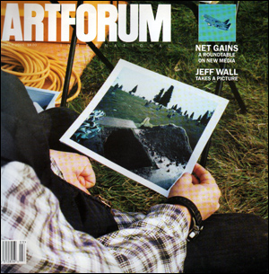 This issue of  Artforum  contains a review of a Dada-related artist