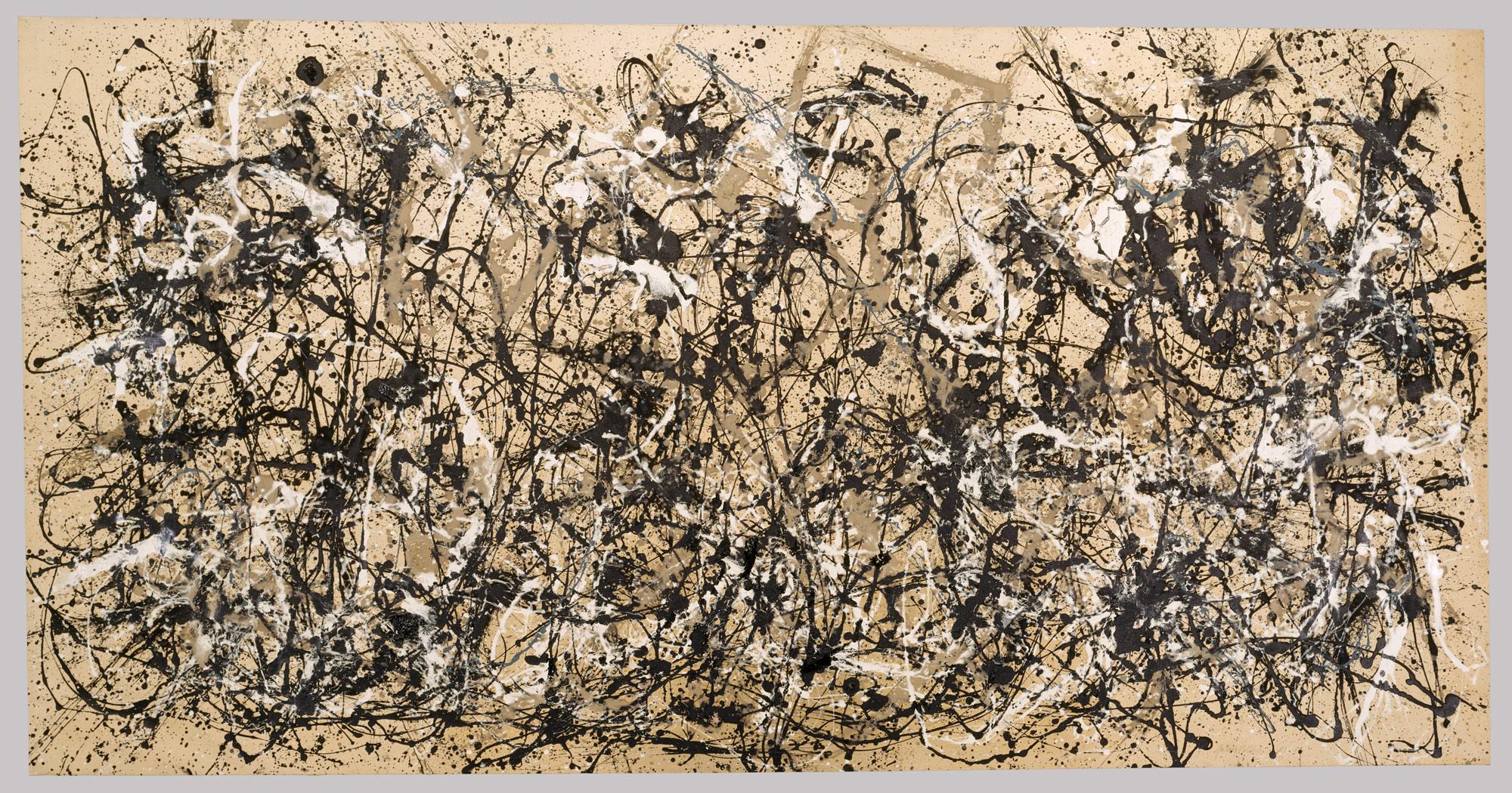Form also takes into account the medium used, i.e. paintingin the case of Jackson Pollock's Autumn Rhythm (1950)