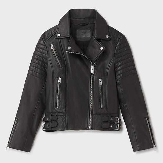 The iconic biker jacket is one of 111 items featured in the Museum of Modern Art's exhibition  Is Fashion Modern? This classic Allsaints Papin Leather Biker Jacket is from my own closet and a much loved staple in my wardrobe.