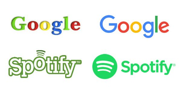 """""""In Five Words, Designer Sums Up Evolution of Leading Tech Logos"""""""