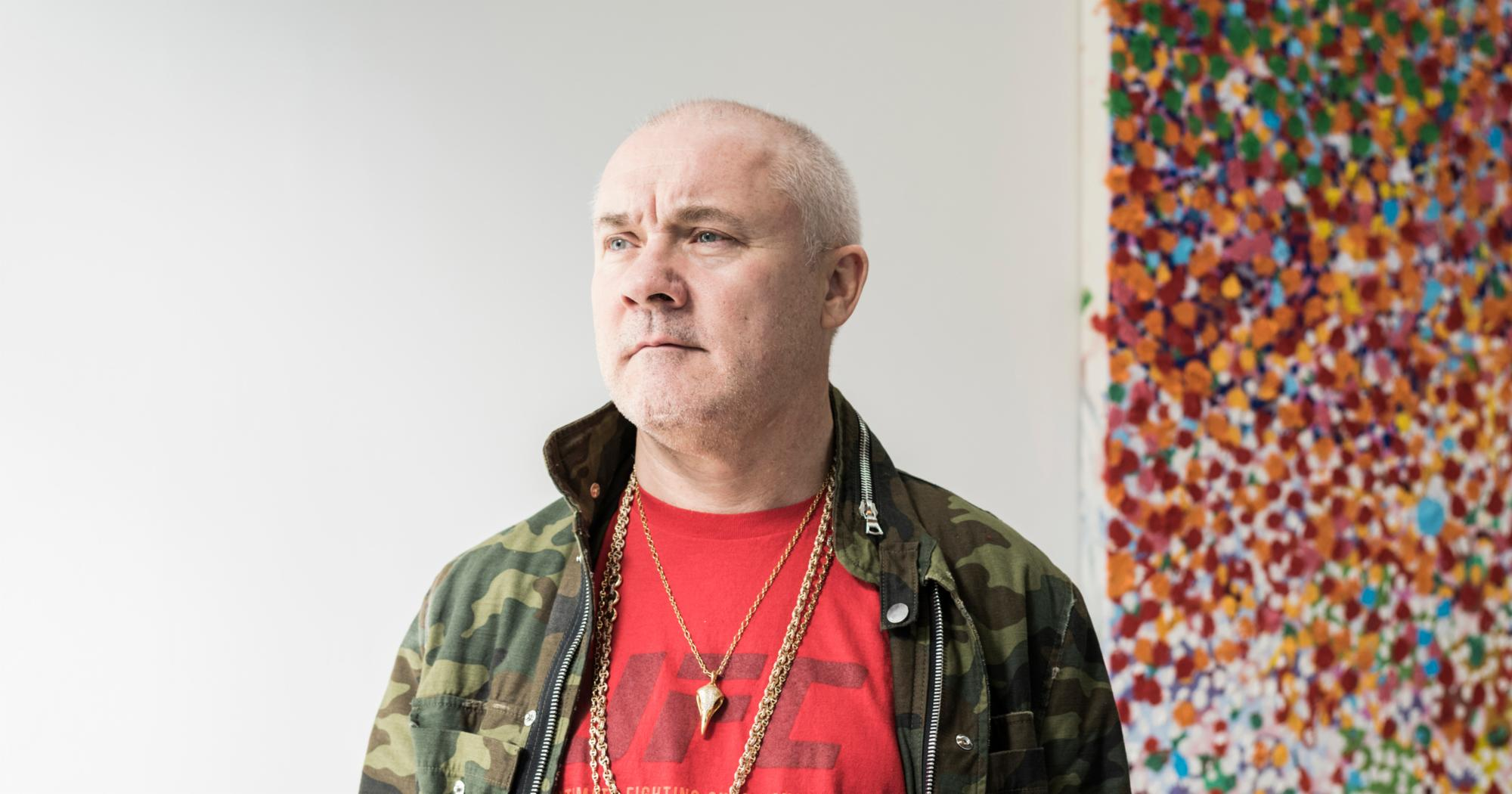 """""""Damien Hirst's Latest Conceptual Feat? Painting the Canvases Himself"""""""