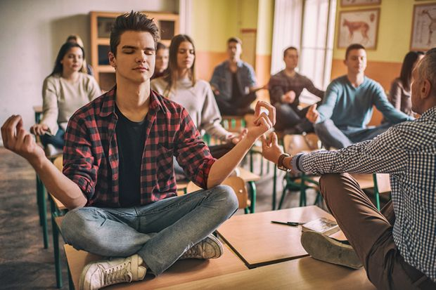 """""""Mindfulness exercises 'help students stay focused in class'"""""""