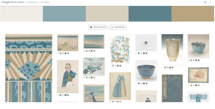 """""""What's Your Favorite Color? With Art Palette, Google Hopes to Repeat the Success of Its Viral Face-Matching App"""""""