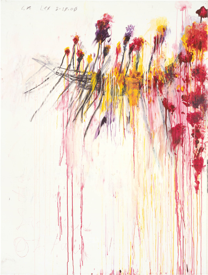 """""""Cy Twombly and the Transporting, Transforming Power of Art That Barely Uses the Tools of Art"""""""