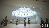 """Giacometti at the Guggenheim Museum (VIDEO)"""