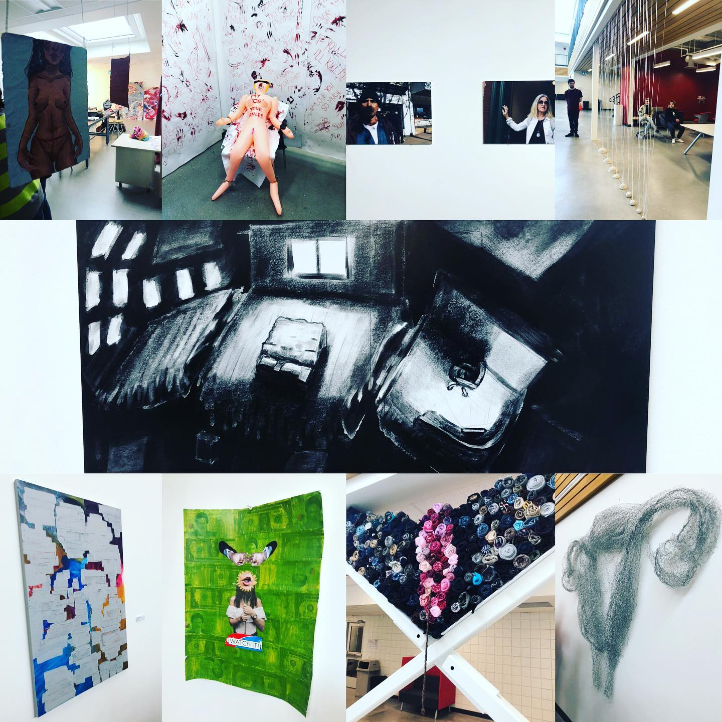 Studio critique of final projects produced in a tight time-frame of under three weeks. Learn more about each project as student bios are published on my blog through the month of June.