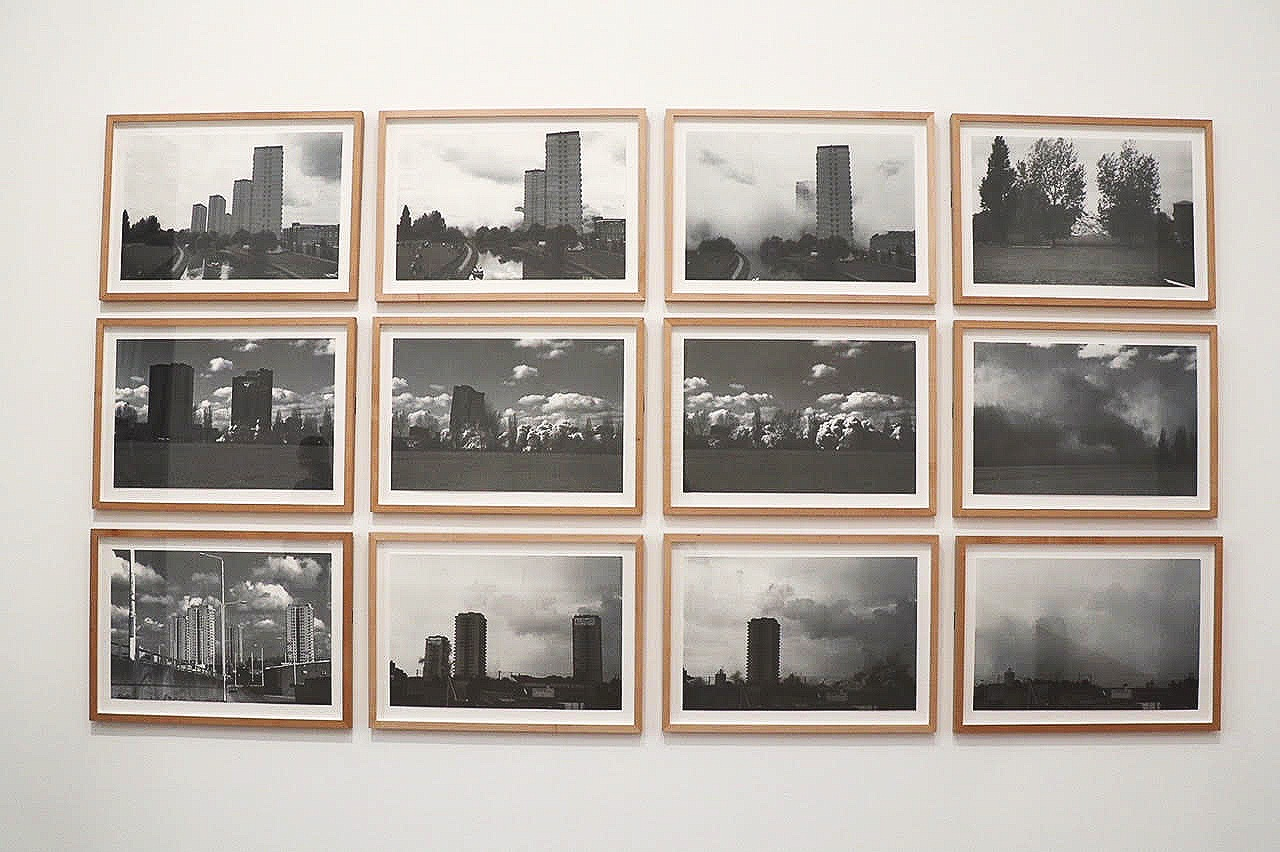 Rachel Whiteread,  Demolished  (1996). Gen's assigned art work is the image on the top row, 3rd from left.
