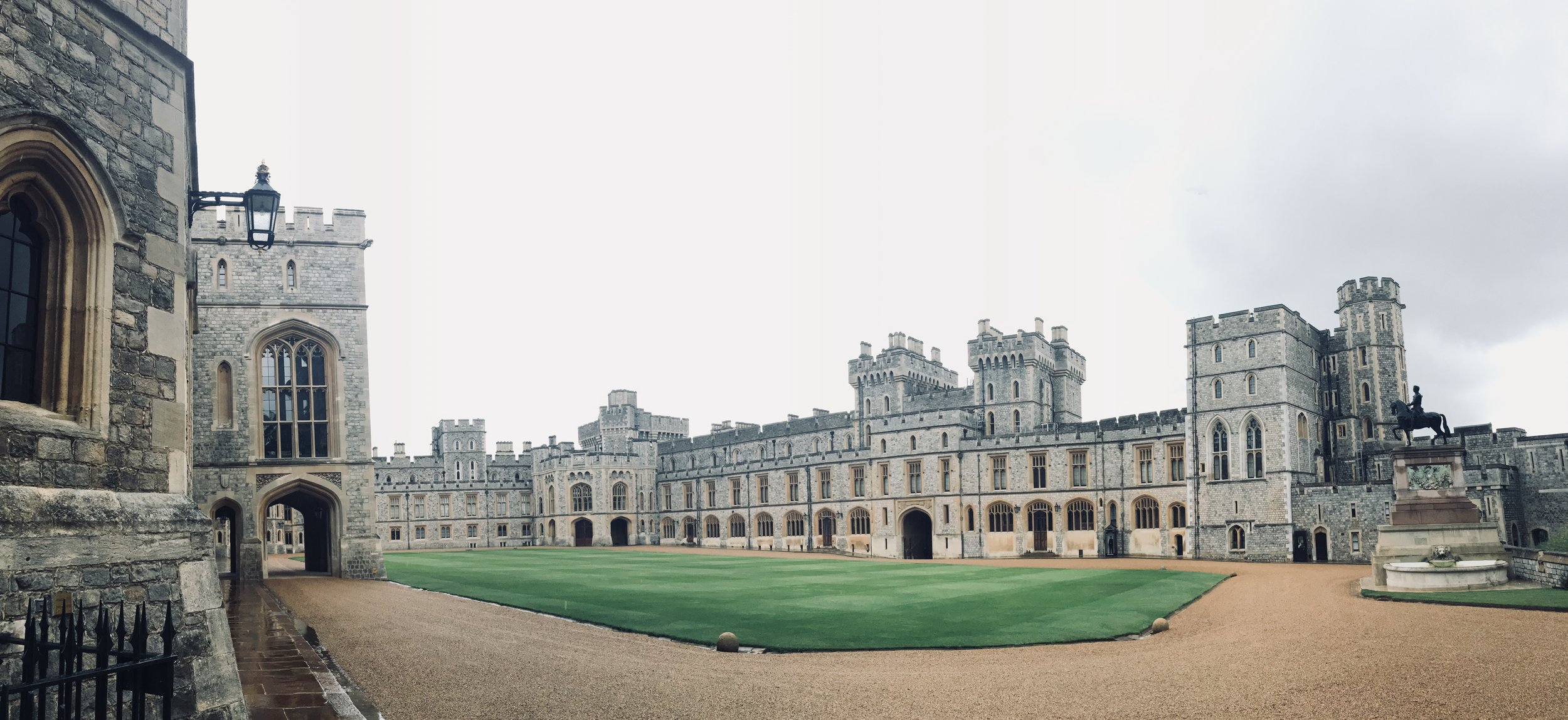 Panoramic view of Windsor Castle