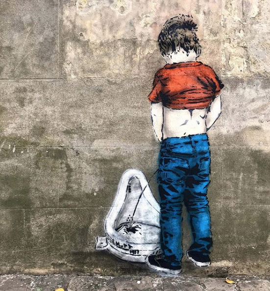 iHeart,  Dada Top Up  (2019) appeared on the  Vancouver street artist's Instagram  on October 5th.