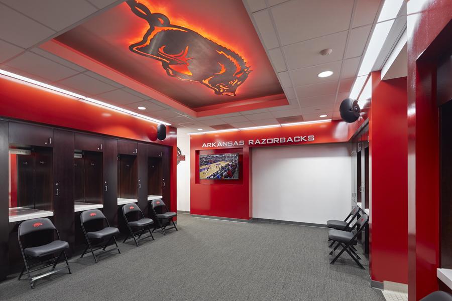 UAF Women's Soccer Locker Room Renovations