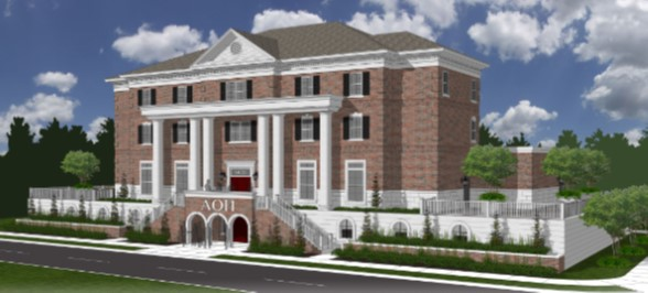 Purdue University Alpha Omicron Pi House